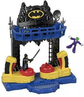 Batman Toy DC Comics Super Hero Battle Bat Cave Toy Batman The Joker Figures NEW • 44.99£