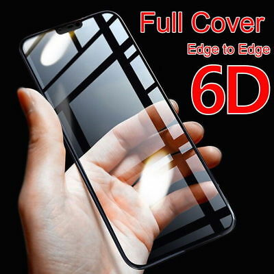 AU5.73 • Buy 6D Curved Full Coverage Tempered Glass Screen Protector Film For OnePlus 6 5 5T