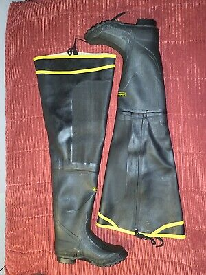 LaCrosse ZXT Rubber Wader Boots 10US/9UK • 61.51£