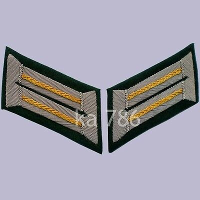 Ww2 German Army Officer Cavalry Wehrmacht Heer Collar Tabs Ad164 • 13.25£