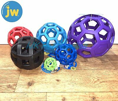 £7.95 • Buy JW Hol-ee Roller Rubber Cage Ball Dog Puppy Interactive Toy Treat Holder