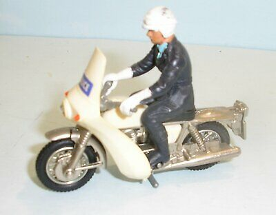 Britains Motorcycle Norton Police 9673 With Original Rider Figure • 7.99£