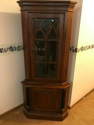 AU150 • Buy Antique Solid Wood Corner Cabinet