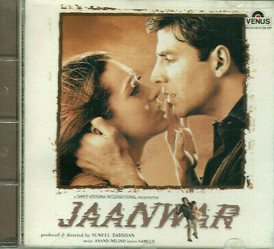 JAANWAR CD Music: Anand Milind Lyrics: Sameer * BOLLYWOOD * HINDI * INDIAN *  • 11.99£