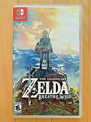 $41 • Buy USED - Legend Of Zelda: Breath Of The Wild (Nintendo Switch, 2017)