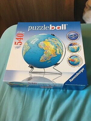 $8 • Buy Puzzle Ball 540 Pieces The Earth 3D With Stand~ Ravensburger