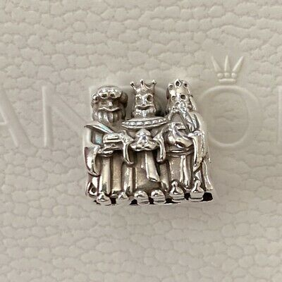 AU89 • Buy Authentic Pandora Two Tone Three Kings With 14ct Gold Cross