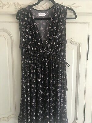 AU35 • Buy Tigerlily Aust 12 Poly Spandex Tassel Dress Great Condition Preloved