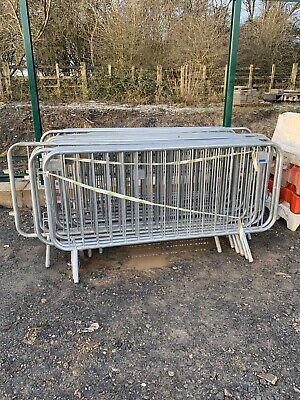 Used Crowd Control Barriers / CAN DELIVER • 18£