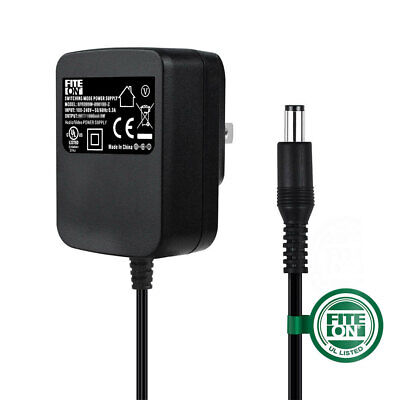 $12.85 • Buy Fite ON 9V 1A 9W AC Adapter Charger For M-Audio Fast Track Pro Power Supply Cord