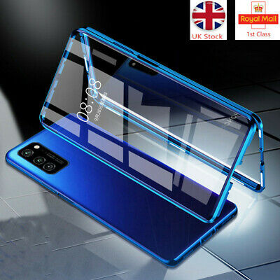 360° Case For Huawei P40 Pro Tempered Glass Cover Magnetic Protective Adsorption • 5.95£