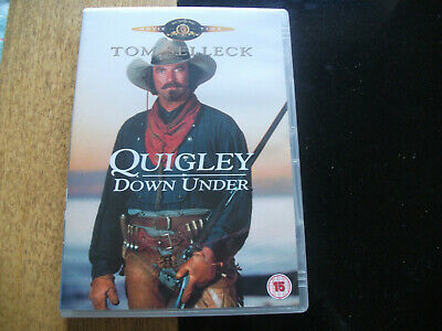 **Tom Selleck Quigley Down Under DVD Great Condition** • 0.99£