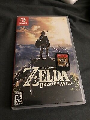 $40.70 • Buy Legend Of Zelda: Breath Of The Wild (Nintendo Switch, 2017)