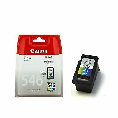 Genuine Canon CL-546 Colour Ink For Pixma MG2450 MG2550 MG2950 MG3050 WithoutBox • 11.99£