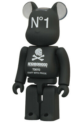 $99.99 • Buy Medicom Bearbrick Series 24 100% Artist NEIGHBORHOOD TOKYO Craft With Pride