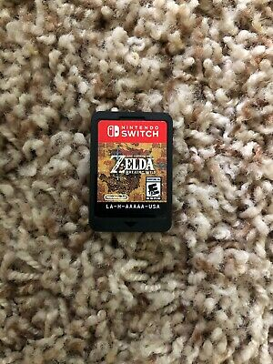 $45.99 • Buy Legend Of Zelda: Breath Of The Wild (Nintendo Switch, 2017) Game Cartridge Only!