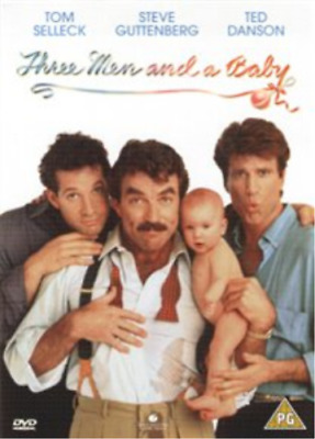 Paul Guilfoyle, Tom Selleck-Three Men And A Baby DVD NEW • 6.67£
