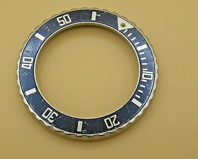 $ CDN50 • Buy Vintage BEZEL For HEUER 1000 Series BLUE Ladies Large Young 980.615. Parts