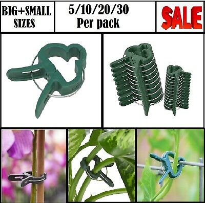£4.99 • Buy Garden Plant Stem Support Small/Large Size (5,10,20,30,50,100 Pcs)