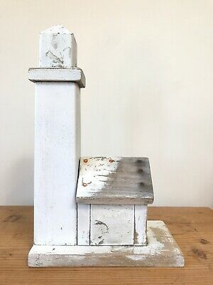 $ CDN473.67 • Buy Vintage Original Paint Primitive Clark Island Maine Folk Art Wood Lighthouse