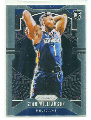 $184.99 • Buy ZION WILLIAMSON 2019-20 Panini Prizm Base Rookie Card RC Pelicans #248