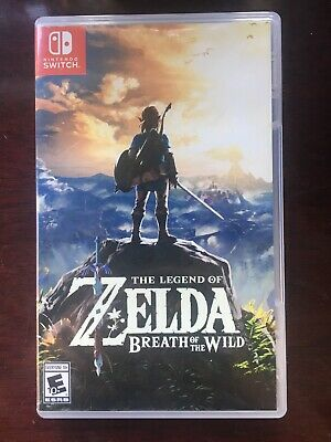 $40 • Buy The Legend Of Zelda Breath Of The Wild (2017, Nintendo Switch)