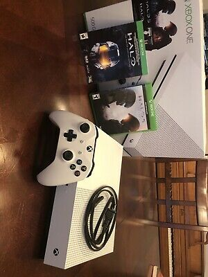 $167.50 • Buy Microsoft Xbox One S Halo Collection Bundle 500GB White Console