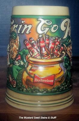 $ CDN20 • Buy Budweiser 1992 ST PATRICK'S DAY POT O GOLD STEIN CS166 ~ 2nd In Series!