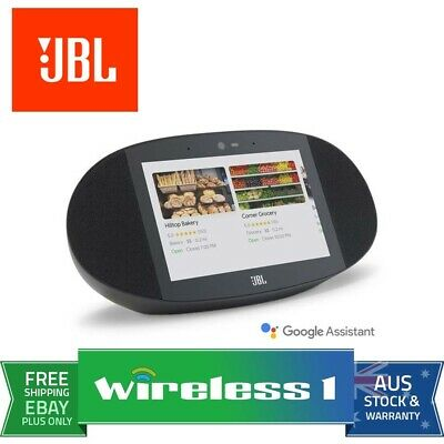 AU189 • Buy JBL Link View - Smart Display Speaker - Black (JBL Refurbished)
