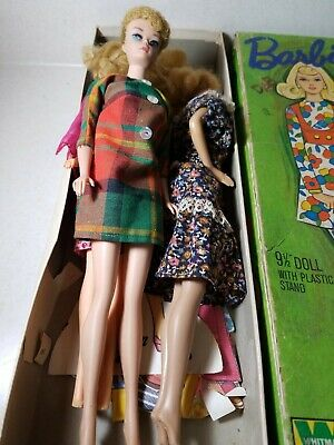 $ CDN90.67 • Buy Vintage 1960s? Barbie Dolls With Clothes Lot
