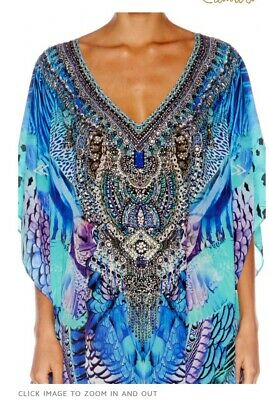 AU400 • Buy Camilla V Neck Kaftan Moon Dance O/S