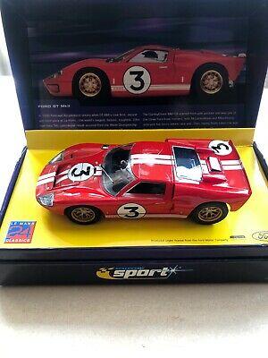 Scalextric 1966 Red Ford GT40 Sport Limited Edition C2509a Deleted Model • 27£