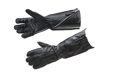 £49.99 • Buy WW2 RAF Flying Gloves Pattern 41 Black Leather - Repro - Large