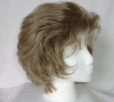 $24 • Buy Women's Henry Margu Layered Feather Back Wig-Ash Blonde 16SR