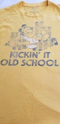 $ CDN13.53 • Buy Men's T Shirt 2XL Mickey Mouse Vintage  Kickin It Old School Disneyland