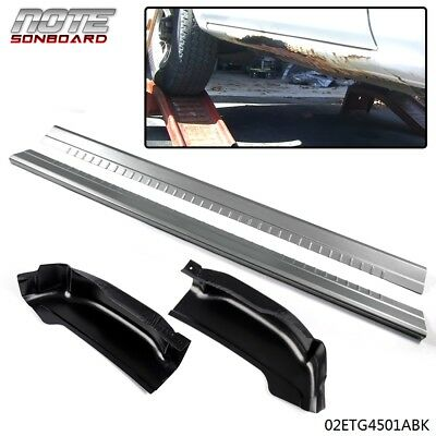 $82.19 • Buy For 99-06 GMC Sierra Silverado Extended Cab 4 Dr Rocker Panels And Cab Corners