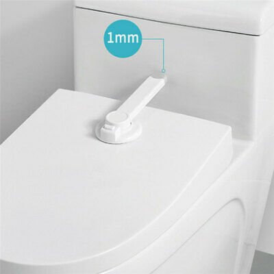 £4.79 • Buy Toilet Seat Lid Lock Safety Child Proof Baby Toddler Kids Potty Home Bathroom