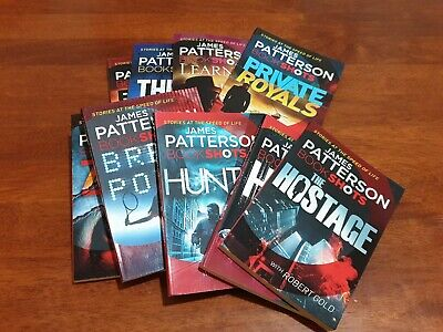 AU42.75 • Buy 9x James Patterson BOOKSHOTS ~ Paperbacks