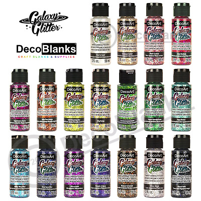 DecoArt Galaxy Glitter 2oz 59ml Pot • 3.30£
