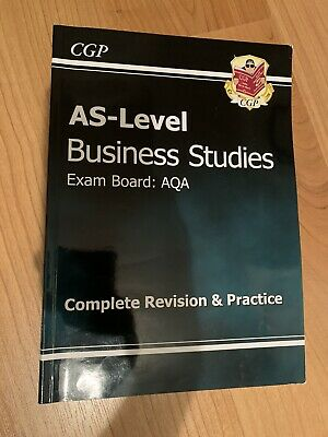 AS Level Business Studies AQA: Revision Guide • 7.99£