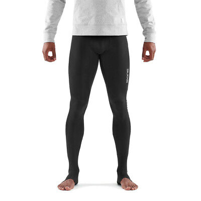 Skins Mens DNAmic Elite Recovery Long Compression Tights Bottoms Pants Trousers • 44.99£