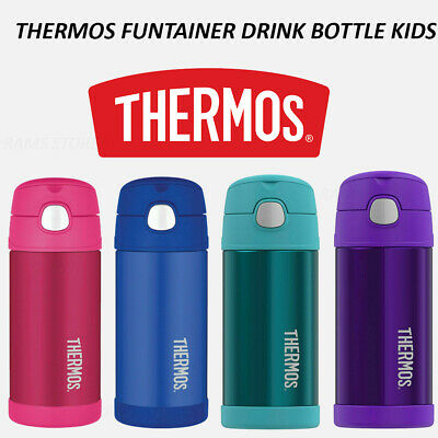 AU21.60 • Buy NEW Thermos Kids Drink Bottle Vacuum Flask Mug Funtainer Toddler + Straw Baby