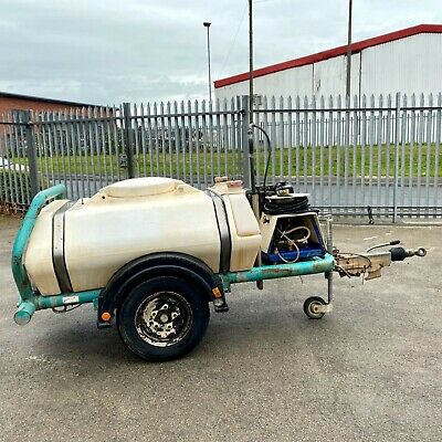 Brendon Water Bowser With 3000 Psi Diesel Pressure Power Washer Yanmar Engine • 2,200£