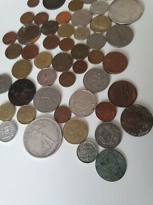 Foreign Coins 50 Mixed.. • 3.99£