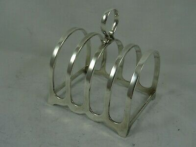 SMART Solid Silver TOAST RACK, 1952, 106gm • 36£