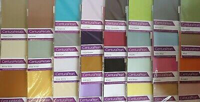 £3.95 • Buy  Crafter's Companion A4 Centura Pearl & Metallic Card Stock 10 Pack Pearlescent