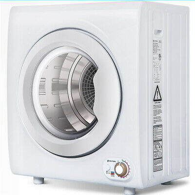 View Details ​2.65 Cu.Ft Compact Laundry Dryer Machine 9 LBS Capacity Tumble Dryer 1400W NEW • 340.70$