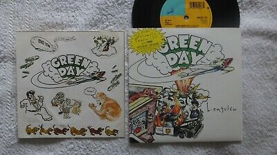 Green Day Longview 7  Single With Stcker Sheet Never Played • 4.95£