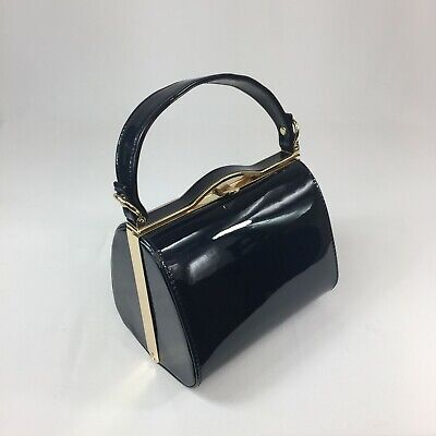 1940s Vintage Inspired Handbag In Navy To Finish Off Your Vintage Outfit BNWT • 10.50£