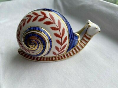 Royal Crown Derby Snail Paperweight • 7.70£